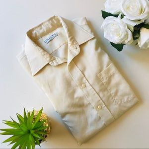 Christian Dior Men's Long Sleeve Button Down 16.5